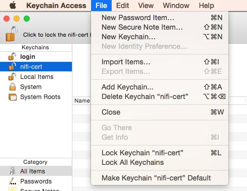 NiFi and SSL — Kylo 0 10 0 documentation