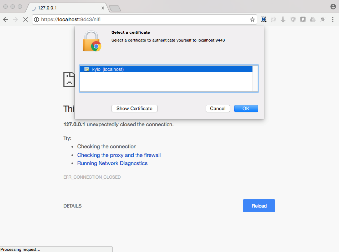 NiFi and SSL — Kylo 0 8 2 documentation