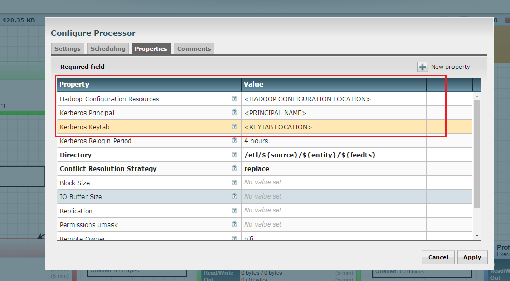 NiFi Configuration for a Kerberos Cluster — Kylo 0 8 2
