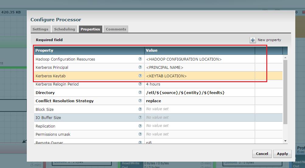 Enable Kerberos for NiFi — Kylo 0 9 1 documentation